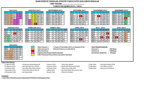 HARI EFEKTI 2013-2014