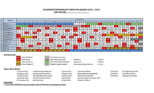 Kalender Pendidikan + Prota + Promes
