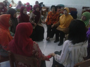 Praktek Layanan konseling Kelompok Guru Sasaran BK Implementasi Kurikulum 2013
