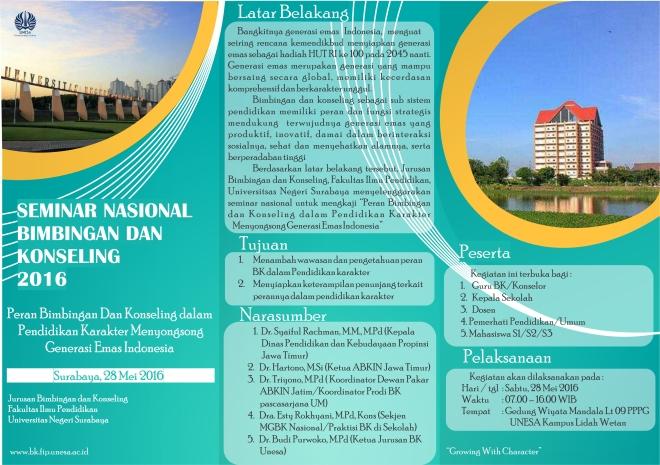Leaflet depan