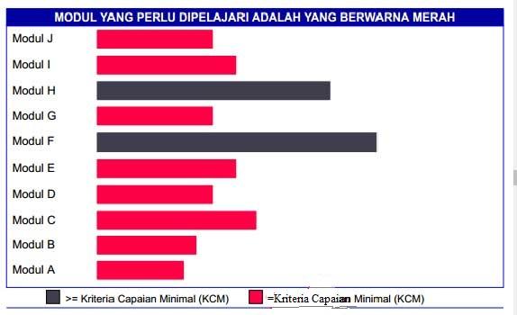 Contoh Rapor Nilai Hasil UKG 2015